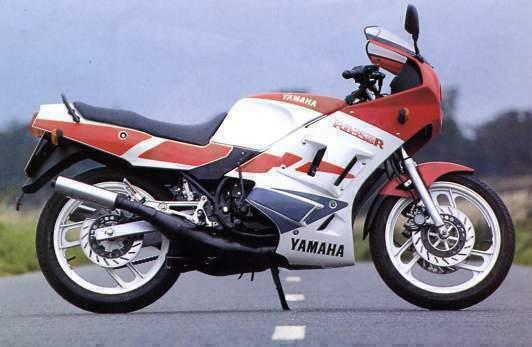 Yamaha Rd    A Venda Na Europa